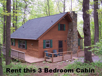 Three Bedroom Rental Cabin