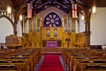 Christ Episcopal Church Inside
