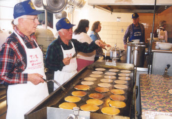 Maple Festival Pancakes