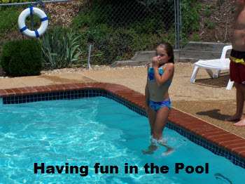 Having Fun at the Pool