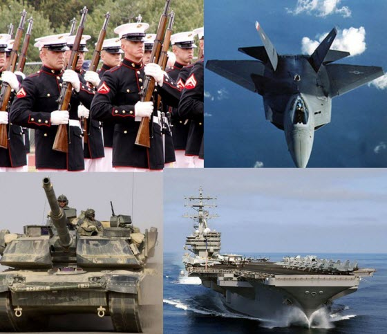 Four Branches of Military