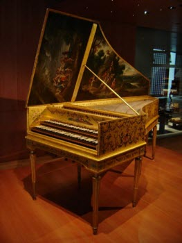 Harpsichord - image from Wikipedia