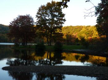 Fall Foliage at Sherando Lake