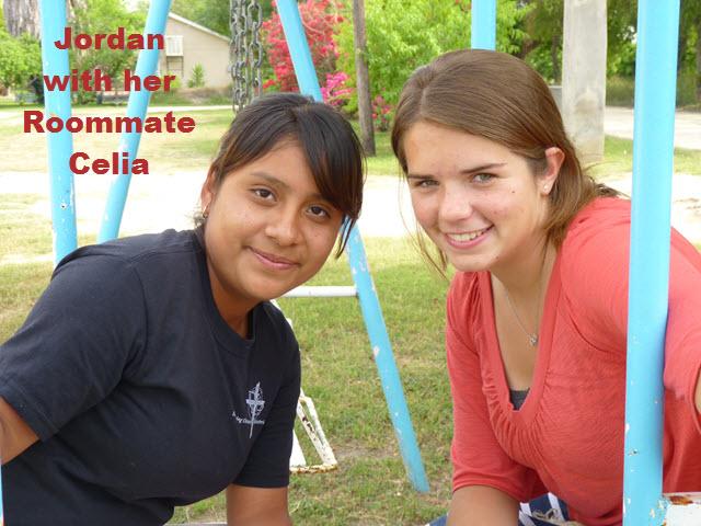 Jordan and her Roommate