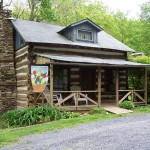 Virginia Homeschool Vacation in Civil War Cabin