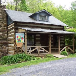 civil war cabin for rent