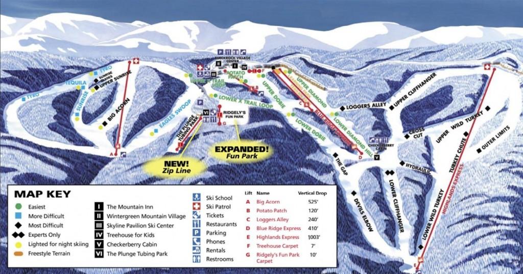 wintergreen ski trips